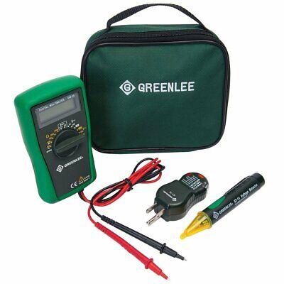 Greenlee Tk-30a Basic Measurementvoltage Detectorcircuit Tester Electrical Kit