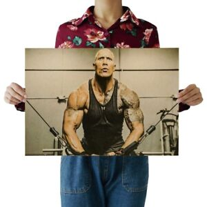 US SELLER- The Rock Dwayne Johnson sports poster home decor art