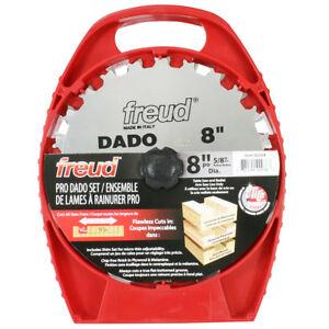 Freud SD208 8-Inch Hi-Density Carbide Professional Stack Dado Blade