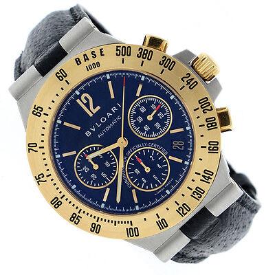 Bvlgari Diagono Chronograph 2-Tone Gold/Steel 40MM Automatic Mens Watch CH40SGTA