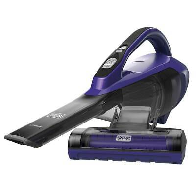BLACK+DECKER HLVA325JP07 Lithium Pet Hand Vacuum, Purple, Pe