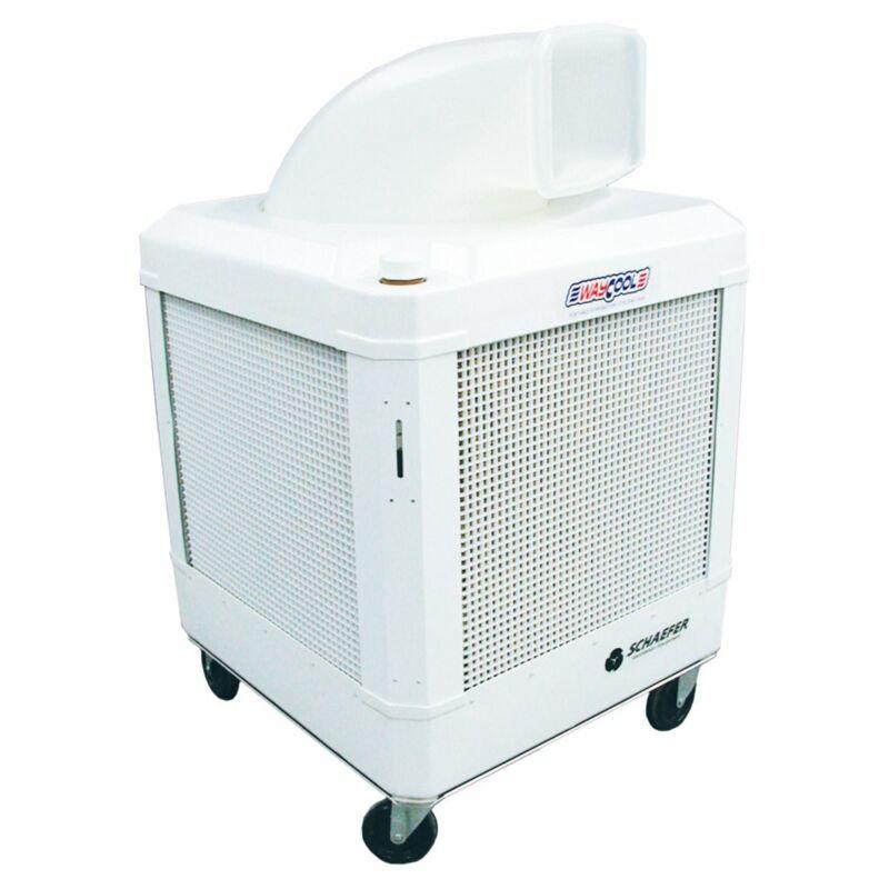 Schaefer  WC-1HPMFAOSC 115 Volt 2-Speed Oscillating Evaportive Cooler, White