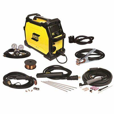 Esab Emp215ic 120230-volt Dual Voltage Professional Grade Migtigstick Welder