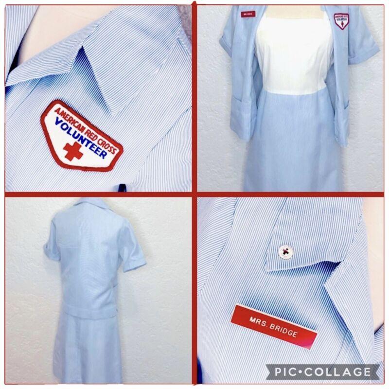 1960's American Red Cross Volunteer Nurse Uniform