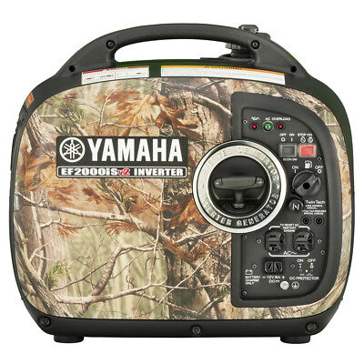 Yamaha EF2000ISCH 2000-Watt Portable Digital Inverter Generator - Camouflage