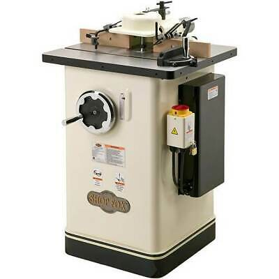 Shop Fox W1674 2 H.p. Shaper With 3 Spindle Travel And 5 Max Spindle Opening
