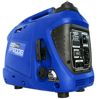 Duromax Xp1200is 1 200 Watt Portable Digital Inverter Gas Powered Generator