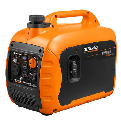 Generac Gp3000i 3000-watt Gas Powered Recoil Start Inverter Generator - 7129