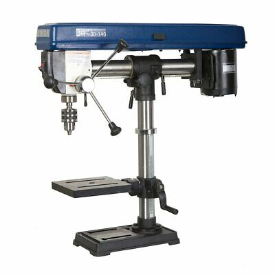 Rikon 30-140 34-inch 13-hp 5-spindle Heavy Duty Benchtop Radial Drill Press