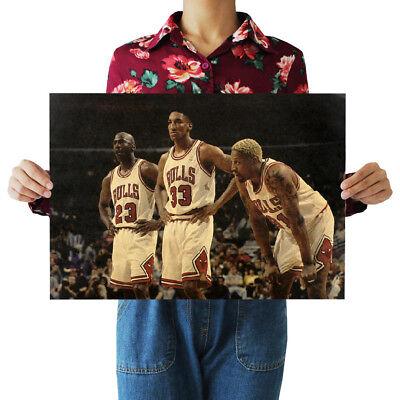 US Seller- NBA BASKETBALL CHICAGO BULLS sports poster wall decor ideas](Basketball Decorating Ideas)