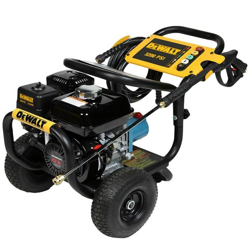 DeWALT DXPW60603 3,200-Psi 2.8-Gpm Cold Water Gas Commercial Pressure Washer