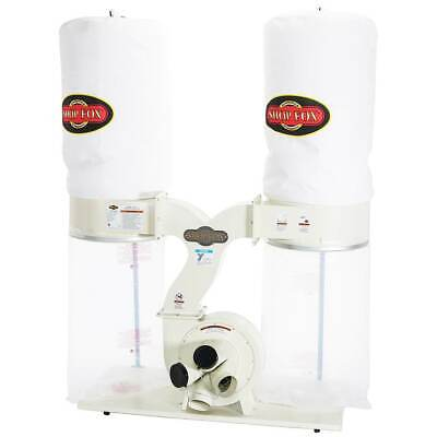 Shop Fox W1687 3-hp 2800 Cfm Woodworking Dust Collector Collection System