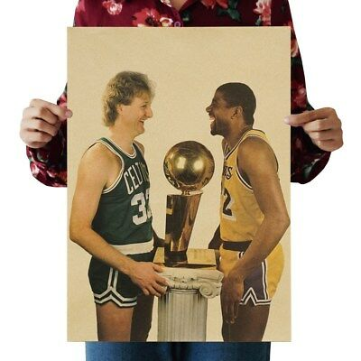 US SELLER- NBA basketball sports poster bar decor ideas](Basketball Decorating Ideas)