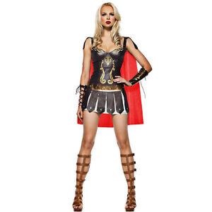GREEK ROMAN GODDESS TOGA WOMENS FANCY DRESS SPARTAN 6 8 10  WARRIOR PRINCESS