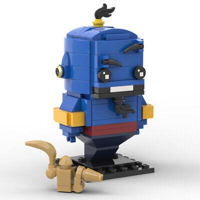 Lego Brickheadz - Disney Aladdin Genie -MOC Creation - PDF INSTRUCTIONS ONLY