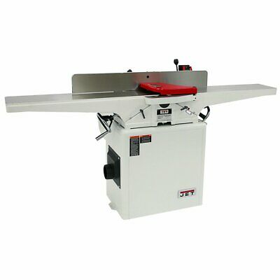 Jet 718250k 230-volt 8-inch 2-hp Indexable Carbide Helical Cutterhead Jointer