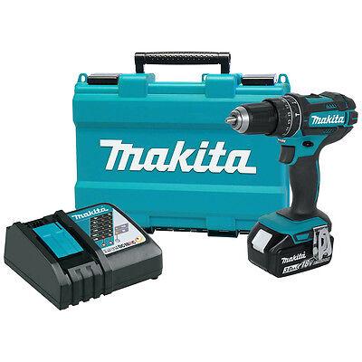 Makita Xph102 18 Volt 3 Amp Lxt Led Lithium Ion Cordless Hammer Driver Drill Kit