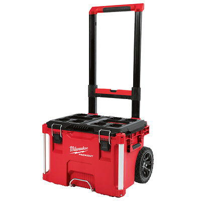 Milwaukee 48-22-8426 250-Pound Capacity Polymer Packout Rolling Tool Box