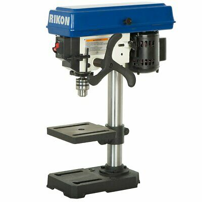 Rikon 30-100 120-volt 8-inch 13-hp 5-spindle Heavy Duty Benchtop Drill Press