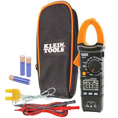 Klein Cl210 Acdc Voltage Auto-ranging Temperature Digital Clamp Meter