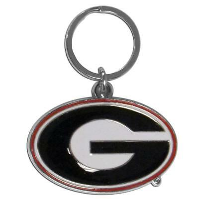 Georgia Bulldogs Metal Keychain Key Chain FAST USA SHIPPING