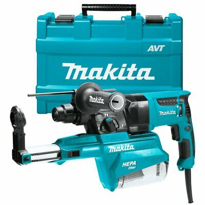 Makita Hr2651 1-inch Sds-plus Pistol-grip Rotary Hammer Kit W Dust Extractor