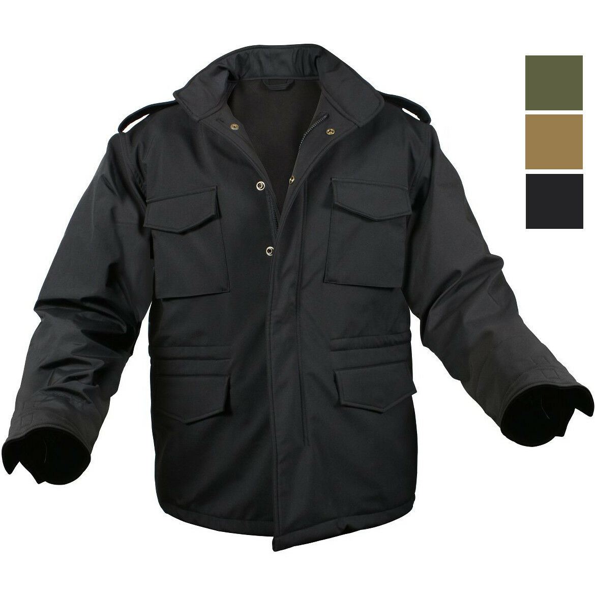 Soft Shell Waterproof Tactical Jacket Army M65 Military Light M-65 Field Coat