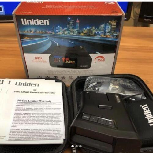 (Open Box Retail) Uniden R7 Radar Extreme Laser Radar Detector Dual Antenna GPS