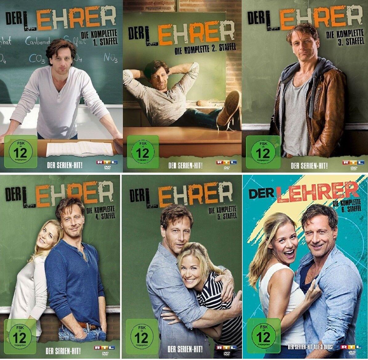 15 DVDs * DER LEHRER - STAFFEL 1 + 2 +3 + 4 + 5 + 6 IM SET # NEU OVP !