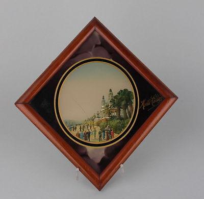 Souvenir de Monte Carlo  Hinterglasansicht, 1920er Jahre