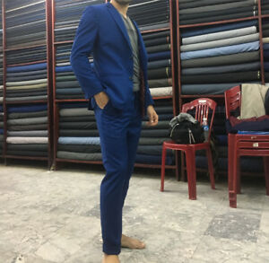 Hand Tailored CUSTOM SUIT ANY SIZE