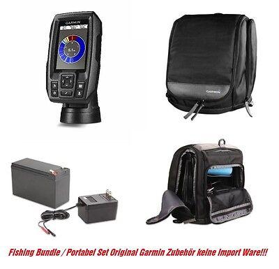 Garmin STRIKER™ 4 Portable Set inkl. Batterie und Ladegerät Fishfinder Echolot  Portable Fishfinder