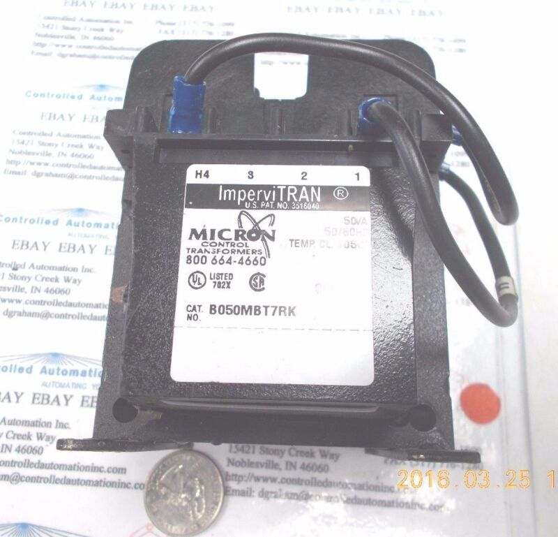 Micron Control Transformers ImperviTRAN B050MBT7RK  50VA 50/60HZ