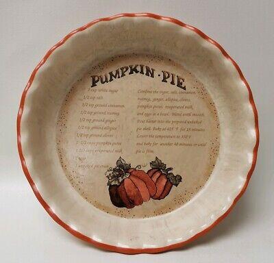 Pumpkin Pie Recipe Dish Plate Orange Halloween Thanksgiving Autumn Harvest  - Halloween Dishes Recipes