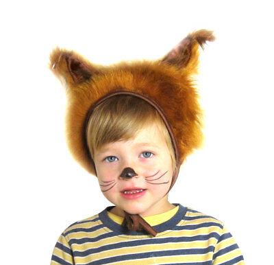 Eichhörnchen Faschingskostüm Tierkostüm Mütze mit Ohren für Kinder Größe S/M - Eichhörnchen Kostüm Für Kind