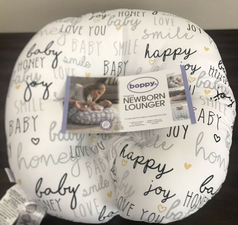 Boppy Lounger for Newborn - Hello Baby - New Open Package
