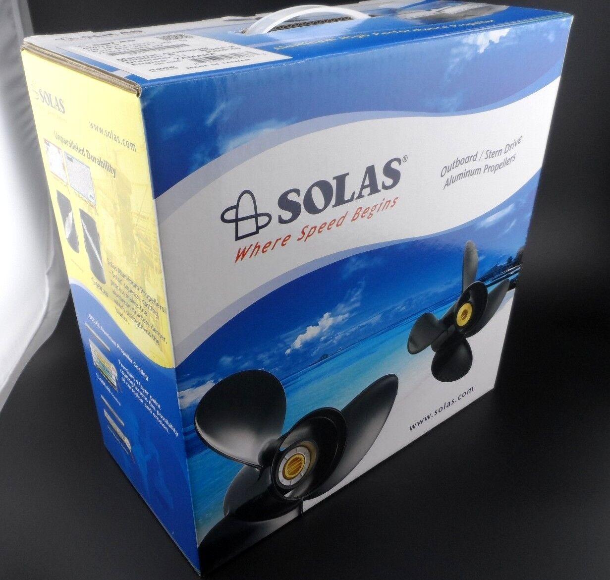 Solas Amita 3 Propeller for MERCURY /& TOHATSU Outboard 5111-093-09 3X9 1//4X9