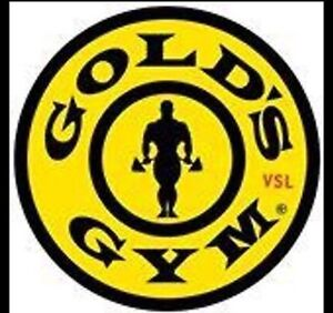 GOLD'S GYM Membership transfer  7 months left *FREE MONTH