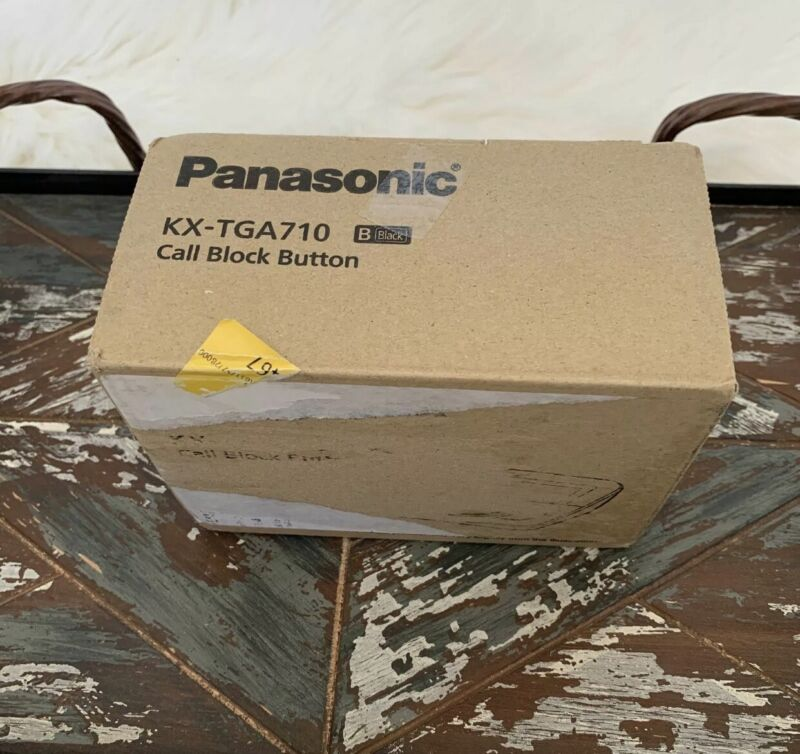 NEW PANASONIC KX-TGA710 CALL BLOCK BUTTON