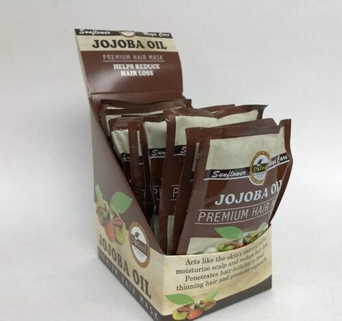12pk premium hair mask jojoba oil helps