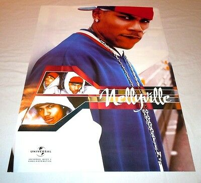NELLY~Nellyville~18x24 Promo Poster~Excellent Condition~2002~~