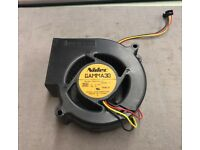 3-Wire NIDEC//SUPERMICRO Blower Fan GAMMA30 A35317-58 12VDC 1.05A FAN-0066
