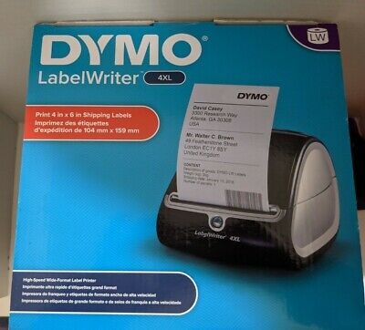 Dymo Label Writer 4xl Thermal Label Printer Print 4x6 Brand New