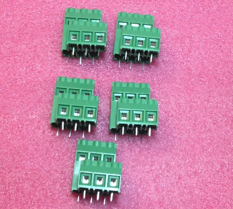 Lot Of 5 Phoenix  MKKDS 5/3-9,5 Terminal Blocks