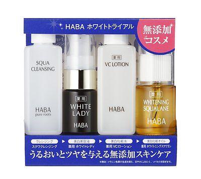 HABA WHITE TRIAL Set - Whitening Skin Care