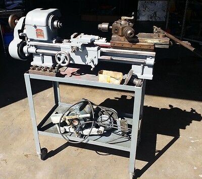 Logan Model 400 Threading Geared Lathe W 4-12 Swing X 12 Center To Center