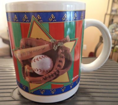 Baseball Christmas Coffee Mug New