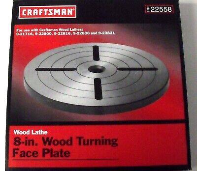 Craftsman 22558 8 Wood Turning Face Plate
