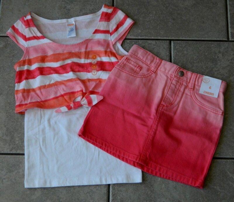 Outfit Gymboree,Desert Dreams,NWT,shirt,skirt,2 pc. set,sz.5,6,7,8 yrs