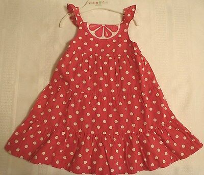 GYMBOREE Girls 12-18 Month Citrus Cooler Pink Polka Dot Dress Outfit NWT